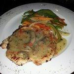 Pollo a la montañesa (cena)