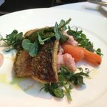 Sea Bass Filet with Pickled Vegetables