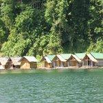 Raft houses