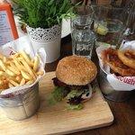 Classic burger!