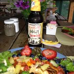 Summer Salad and Wheat Beer