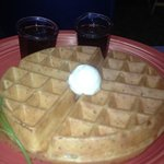 Delectable waffle