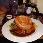 roast beef dinner at one of the local pubs!