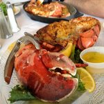 2lb whole stuffed lobster