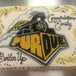 Awesome graduation cake from the BC