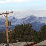 Rocky Mountains from my balcony
