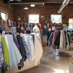 Beautiful cottons, silks, woolens, and knits.