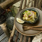 ALIVE! Cuisine - Mushroom Ceviche
