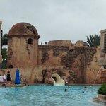 main pool water slide