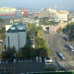 Incheon city from our room