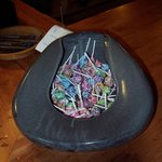 candy in bedpan