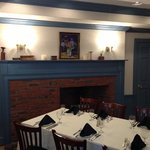one of the private dining rooms