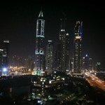 Dubai View by Night (balcony)