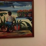 Example of the  Oil Paintings in Sunbreeze Guestrooms