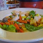 Fresh seafood combination