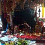 Temple inside the lodge Area