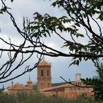 Monasterio desde el parque