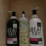 Fantastic taste in shampoo/conditioner