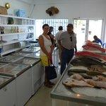Pescaderia fresca del Restaurante!!