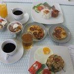 Breakfast again! YUM