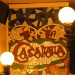 Lovely mosaic in the restaurant