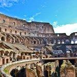 Colosseum Roma - inside