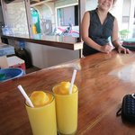 EDDIES PLACE MANGO SHAKE