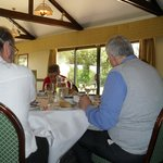 Guests enjoying Sunday lunch