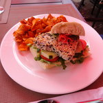 Sesame Tuna sandwich