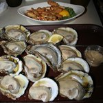Raw On the Half Shell Oysters