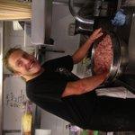 terrific tom making beef patties