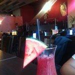 amazing piña mystery alcohol free drink :)