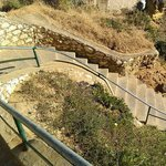 One example of steps to beach - steep