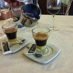 Delicioso café asiático minero