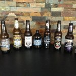 Some craft beers. We have over 60 to choose from!