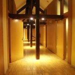 Couloir du deuxième étage