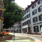 Holbeinbrunnen Spalentorbeunnen