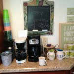 Coffee in kitchen