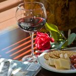 Wine - Cheese in room