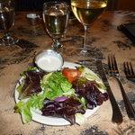 We each got a nice salad