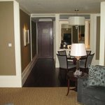 breakfast and dining area in suite 1012