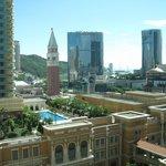 Suite view looking over Macau