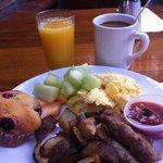 superb breakfast!!!!