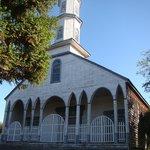 Vista frontal da igreja