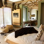 Bedroom & private lounge