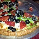 Veggie pizza, it's a beautiful thing.