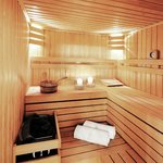 Sauna in Lux Apartment