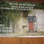 la porte d'entrée du Kahl burg (en domaine privé maintenant !)