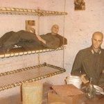 un peu de repos pour les gardes (lits superposés)
