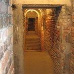 un des nombreux passages et couloir
